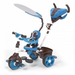 Little Tikes Sportovná trojkolka 4v1 - modro-bielá