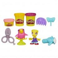 Play-Doh Town Figurka ze zwierzątkiem fryzjer i papuga