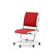 Rostoucí židle SCOOTER red-bílý rám