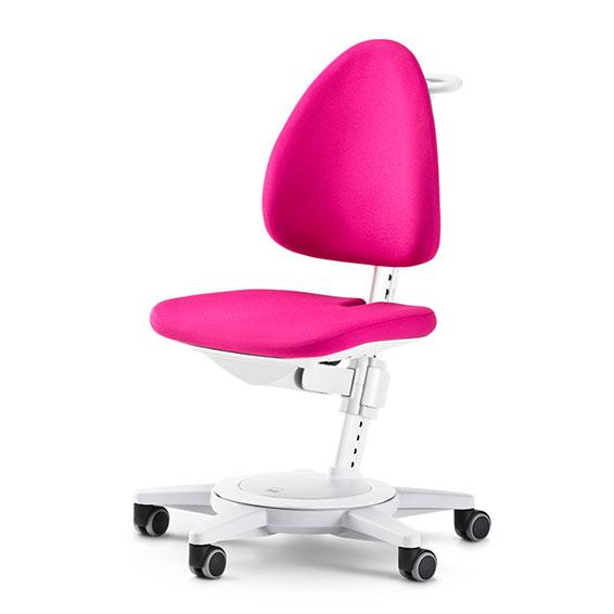 Rostoucí židle MAXIMO Pink-bílý rám