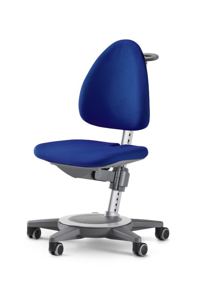 Rostoucí židle MAXIMO Blau-šedý rám