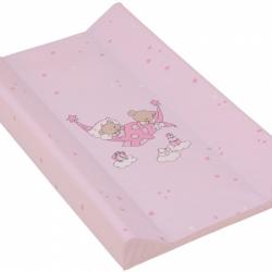 Přebalovací podložka měkká 70 x 50 cm Růžová