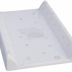 Přebalovací podložka měkká 70 x 50 cm Bílá