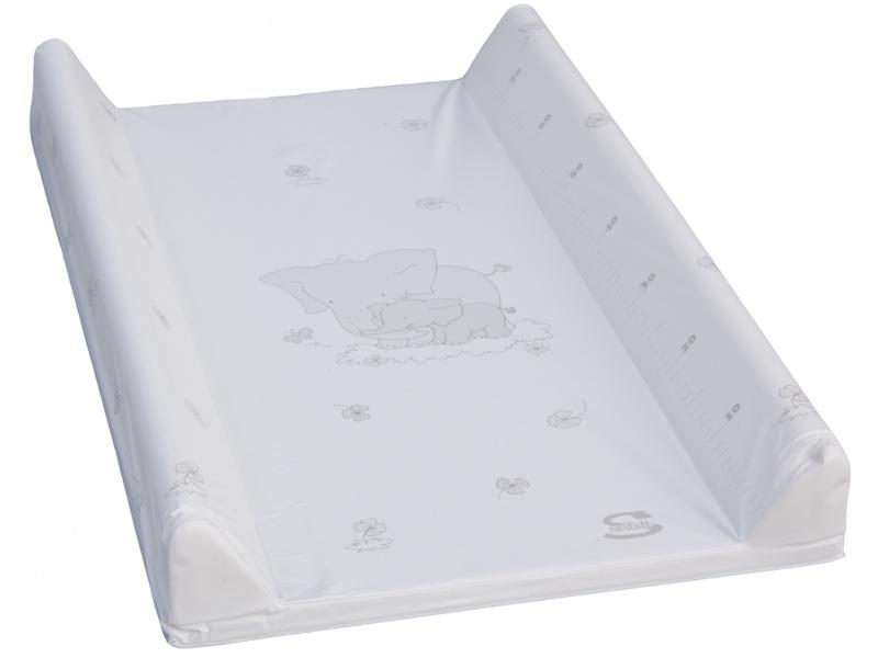 dc9107711113 Prebaľovacia podložka mäkká 70 x 50 cm Biela