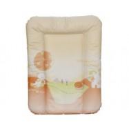 Mata do przewijania na komodę Perła Dingo - pomarańczowa 54x73 cm