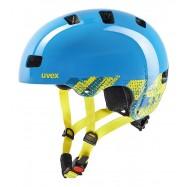 Dětská helma UVEX  KID 3 BLACKOUT BLUE 55 - 58 cm