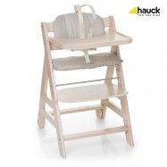 Rostoucí dětská židle Beta+ včetně bezpečnostních pásů white-washed