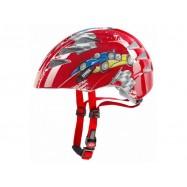 Dětská helma UVEX  KID 1 CARS RED 47 - 52 CM