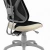 Rostoucí židle Fuxo síť černo šedá 046