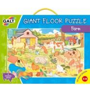 Veľké podlahové puzzle  na farme