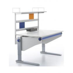 Nástavba stolu Winner Compact - alu / šedá