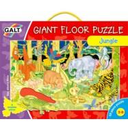 Veľké podlahové puzzle  zvieratká v džungli
