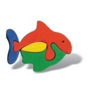 Dřevěné minipuzzle - Ryba