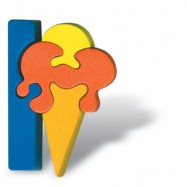 Puzzle písmena - I - Zmrzlina