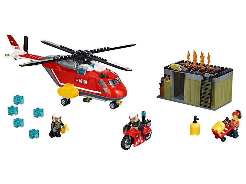 LEGO® CITY  Hasičská zásahová jednotka 60108