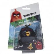 Angry Birds: 3D figurka 7-8,5 cm s nylon přívěskem Bomb
