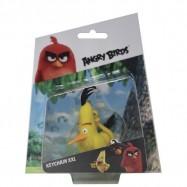 Angry Birds: 3D figurka 7-8,5 cm s nylon přívěskem Chuck