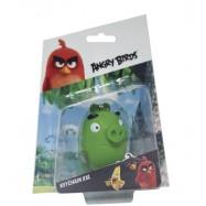 Angry Birds: 3D figurka 7-8,5 cm s nylon přívěskem Leonard