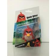 Angry Birds: 3D figurka 7-8,5 cm s nylon přívěskem Red