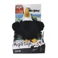 Angry Birds: 14cm plyšová hračka s nylon přívěskem Mighty Eagle