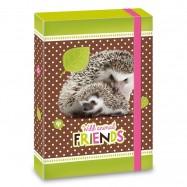 Dosky na zošity A5 Hedgehog