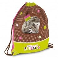 Worek na obuwie szkolne Hedgehog