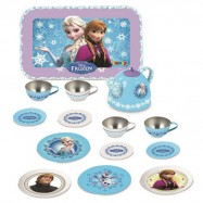 Ledové království čajový set kovový