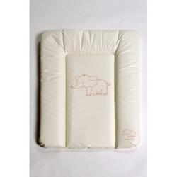 Přebalovací podložka Puppolina měkká Slon Béžová 70 x 50 cm