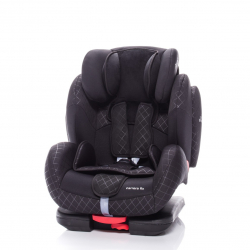 Dziecięcy fotelik samochodowy Zopa CARRERA FIX, Fantom Black