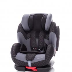 Dziecięcy fotelik samochodowy Zopa CARRERA FIX, Rock Grey