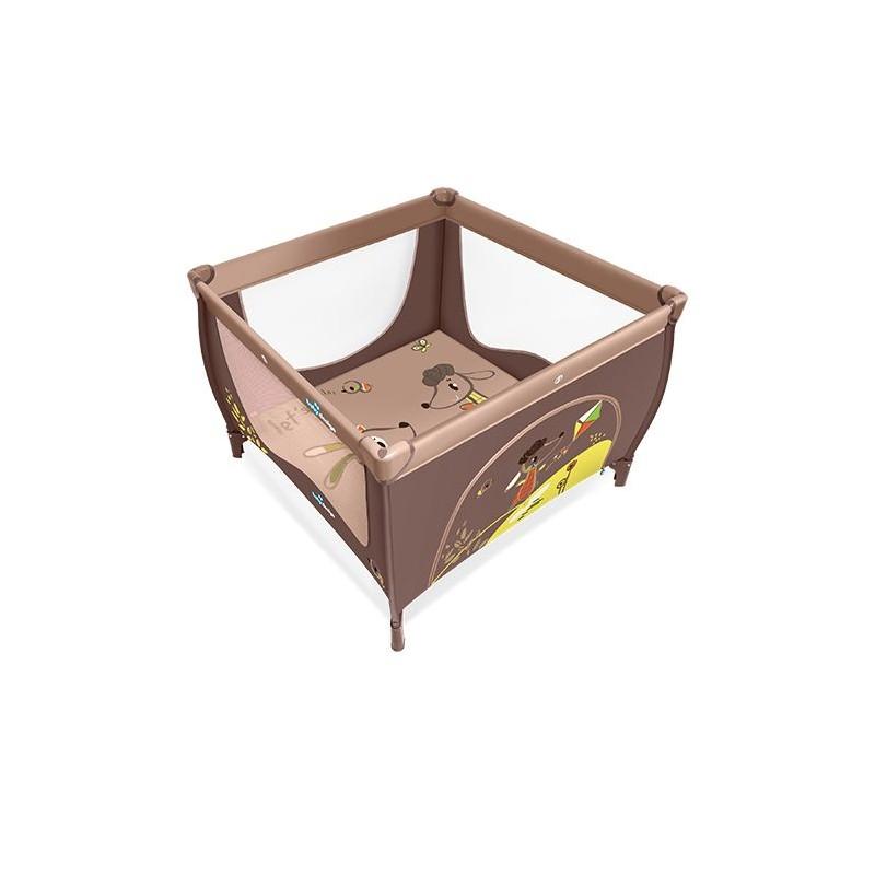 Baby Design Ohrádka Play 2016 - 09 hnědo/béžová