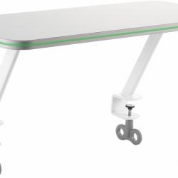 Odkladacia polička pre stoly Žolík, Junior zelená