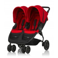 BRITAX B-AGILE DOUBLE 2016, Flame Red