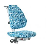 Pokrowiec na krzesło Laura niebieski