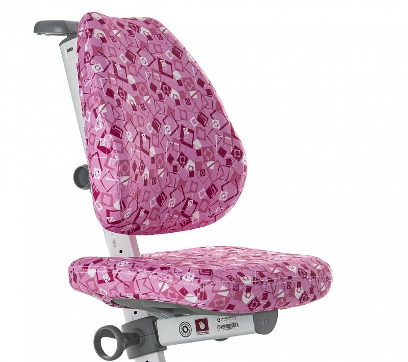 Potah na židli Laura růžový