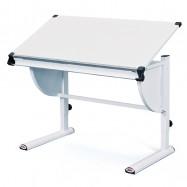 Detský rastúci stôl CETRIX biely