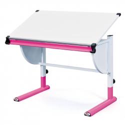 Rosnące biurko CETRIX różowe