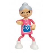 HAPE dřevěné hračky - dřevěná postavička babička