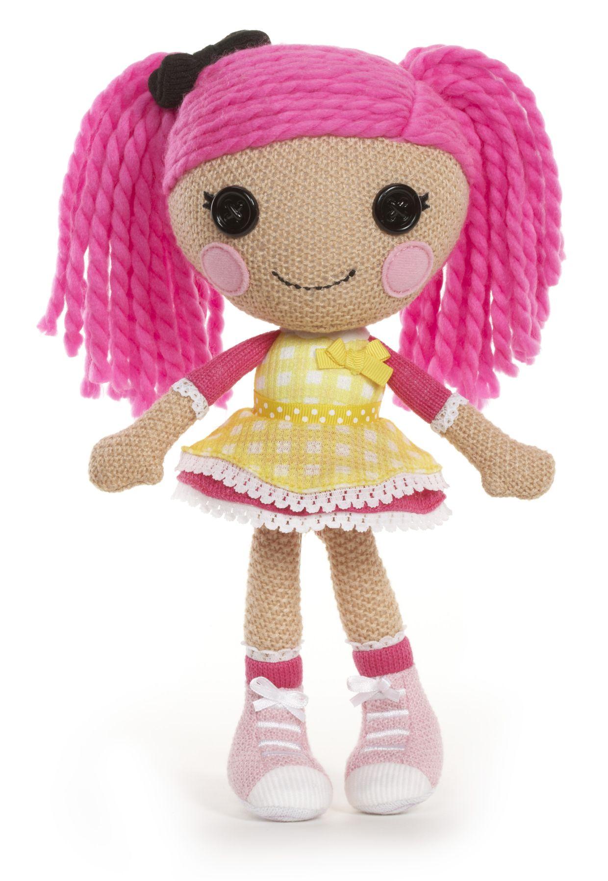 Lalaloopsy Háčkovaná panenka CRUMBS Sugar Cookie