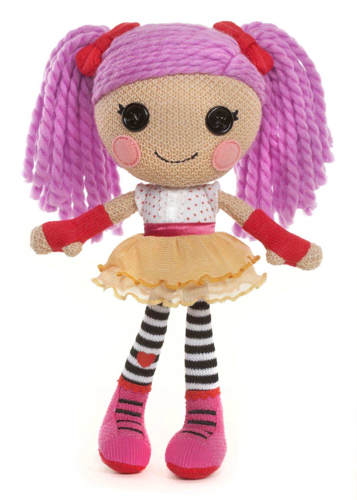 Lalaloopsy Háčkovaná panenka  Peanut Big Top