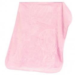 Španělská deka B12 - růžová, 80 x 110 cm