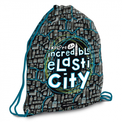 Sáček na přezůvky Elasti City