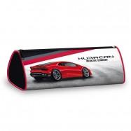 Penál Lamborghini červené úzký