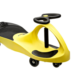 PlasmaCar bez prilby žltá