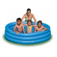 Nafukovací bazén modrý 168*38cm Intex