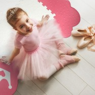 Designová puzzle podlaha Princess