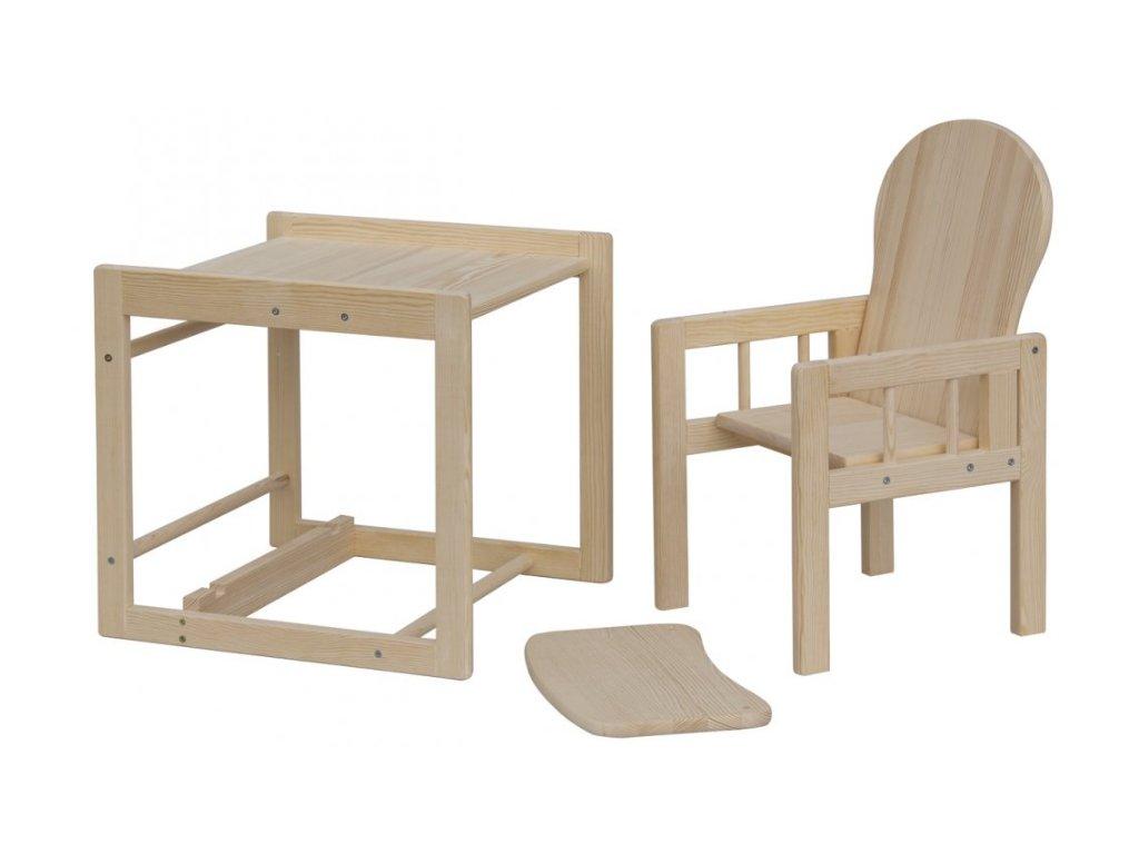 Jídelní dřevěná židlička Scarlett ECO
