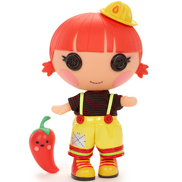 Lalaloopsy Littles Panenka Red Fiery Flame