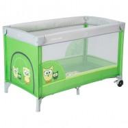 Babymix Łóżeczko turystyczne HR-8052-171 - zielone