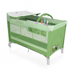 Baby Design Cestovní postýlka Dream - 04 zelená
